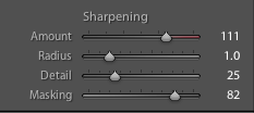 Sharpening